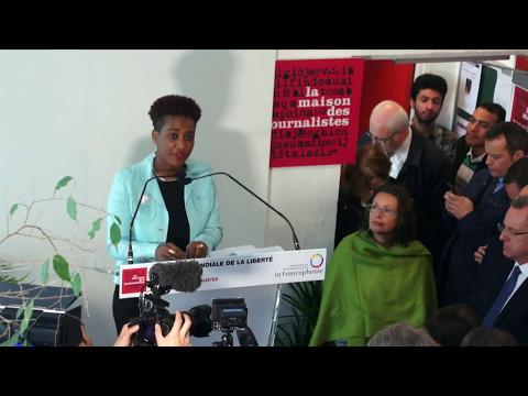 Journée de la Liberté de la Presse 2017 à la Maison des journalistes