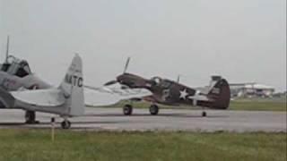 WWII Weekend Event Reading Pennsylvania ( P40  P47 P51  B17  B25   Avro Lancaster )