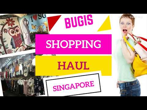 Bugis Street Singapore | Bugis Street Shopping Haul