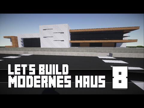 Minecraft modernes haus bauen 4 tutorial anleitu for Minecraft modernes haus download 1 7 2