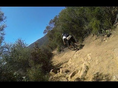 Gridley Trail Downhill (top to bottom) - Ojai, CA