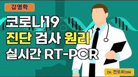 코로나19(신종코로나바이러스) 진단검사원리: real time(실시간) RT-PCR(역전사 중합효소 연쇄반응)