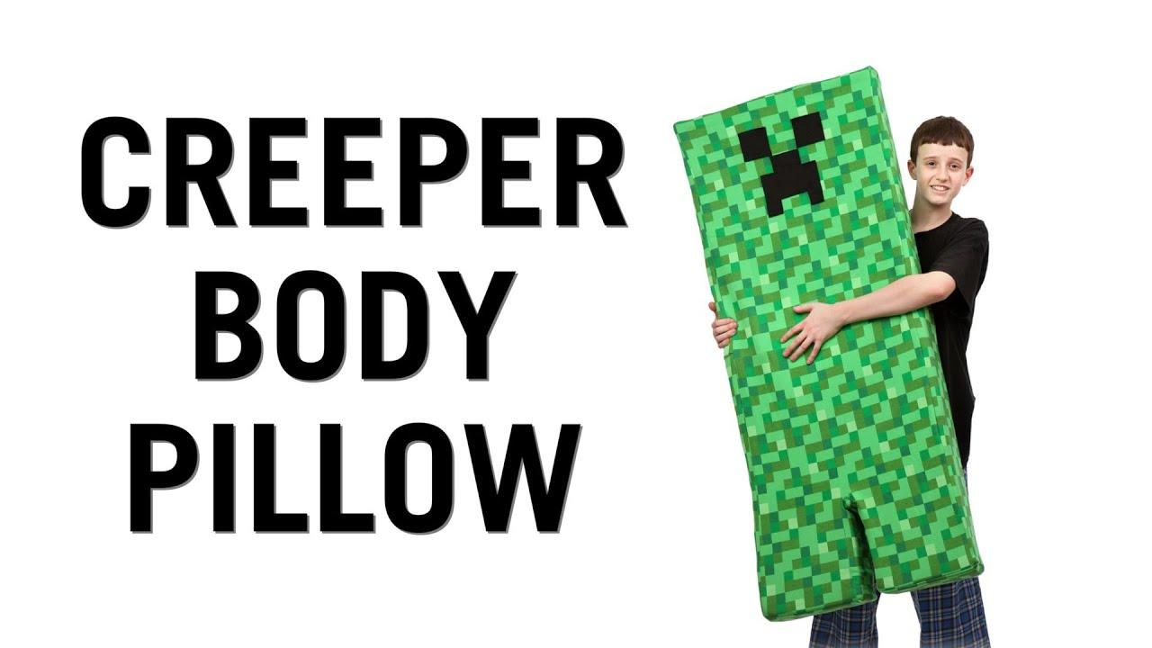 Creeper Body Pillow From Thinkgeek Youtube