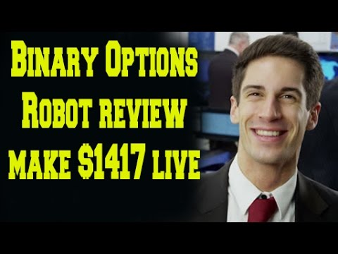 Binary Options Robot Scam Review. Live Trading, Make $1417 in 1 Hour!