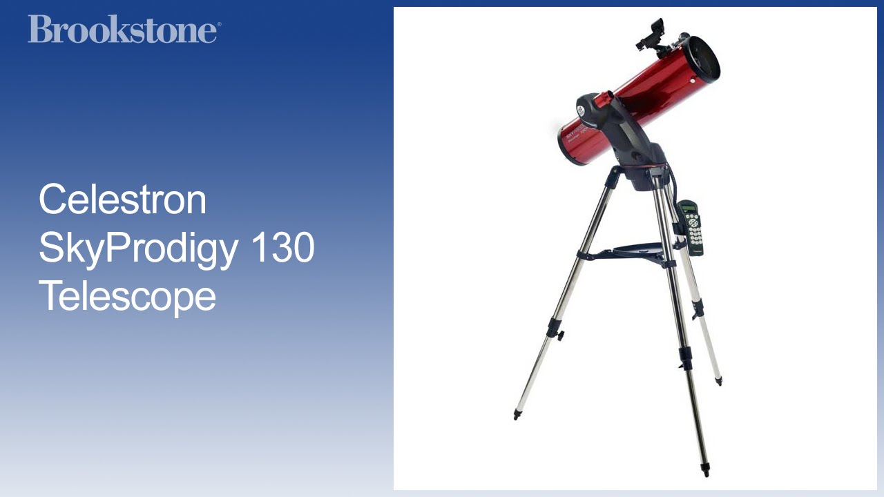 Celestron skyprodigy telescope youtube