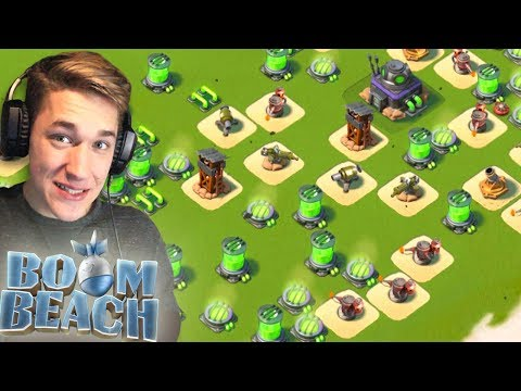UNLOCKING Dr T Island and Volcano Events in Boom Beach! (Starting Over #3)
