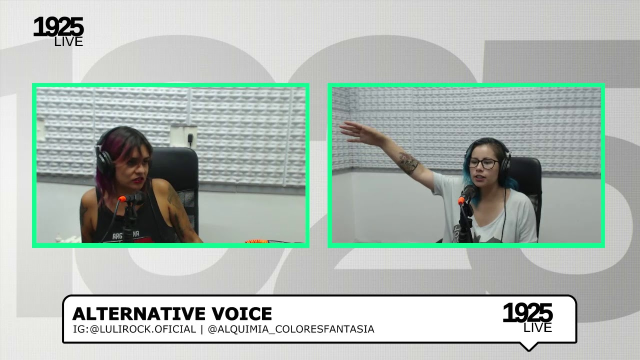 Alternative Voice Entrevista A Luli Rocks Parte 2 Youtube