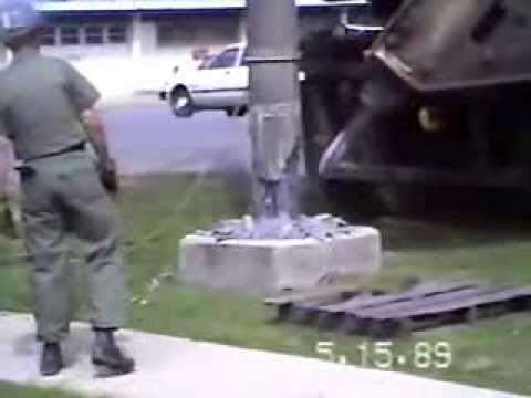NMCB-4 Okinawa 1989 Utility Pole Removal Crew. Part 1 of 2
