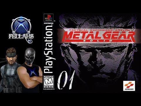 Metal Gear Solid (PS1) 100% Legendado em PT BR - HD 1080p - Parte 01