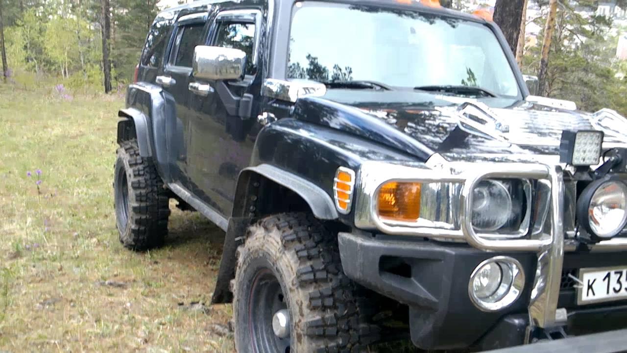"""33"""" колеса на Хаммер н3 Simex Jungle Trekker 2"""