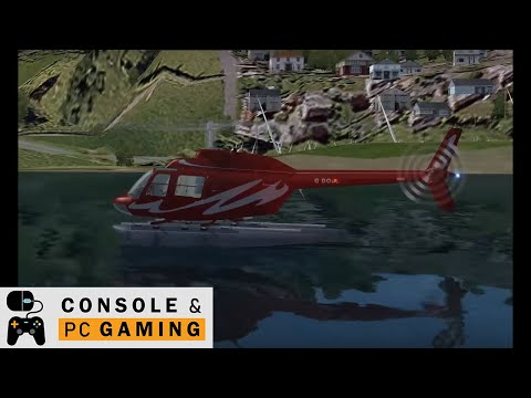 Flight Simulator - Fight from London Heliport to Dover with Dodosim Bell 206