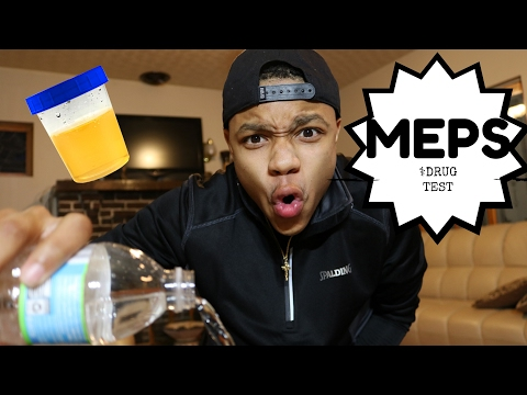 MEPS Drug Test Experience! - YouTube