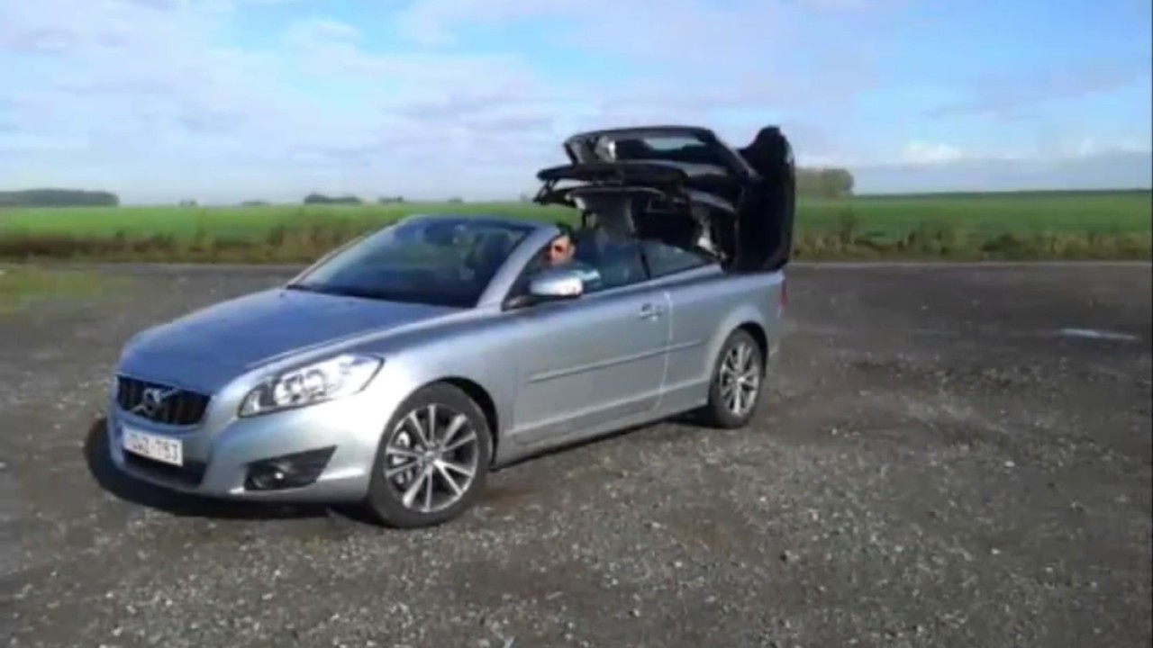 Volvo C70 with Retractable Hardtop Convertible  YouTube