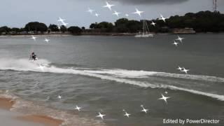 Mithu and Shanth rides Jet ski at BLUE WATER SPORTS, Trincomalee really amazing😀😊