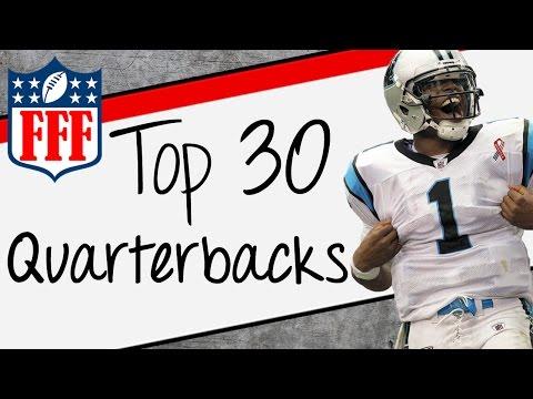 2015 Fantasy Football Top 30 Quarterback Rankings - FFF