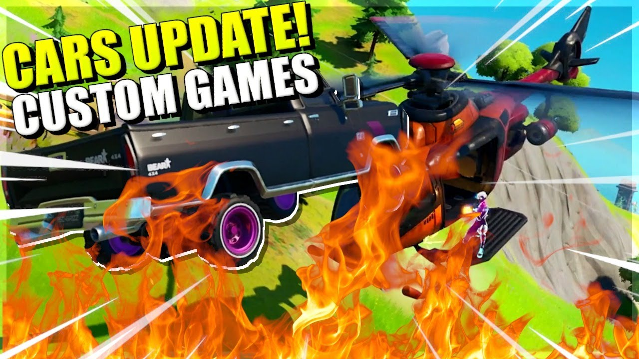 FORTNITE CARS UPDATE!! CUSTOM DUOS (EU) | Livestream