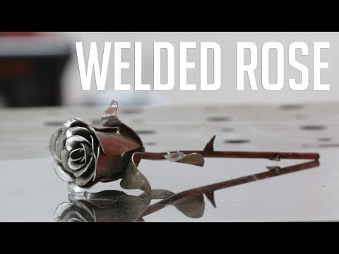 How to Make a Welded Rose (Featuring HourGlassFab)