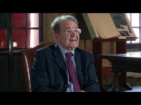 """Romano Prodi a euronews: """"il mio euro era diverso da oggi, sì a doppia… - global conversation"""