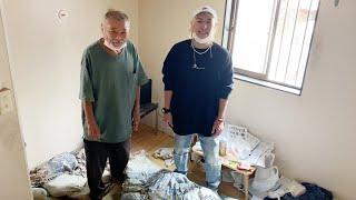 全財産1円で西成で生活保護で生活する人の家に行ってみたら生活が酷すぎた…