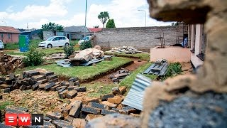 53 houses were severely damaged and one person injured  after a tornado swept through the Johannesburg suburb on Monday.    Click here to subscribe to Eyewitness news: http://bit.ly/EWNSubscribe   Like and follow us on: http://bit.ly/EWNFacebookAND https://twitter.com/ewnupdates   Keep up to date with all your local and international news: https://ewn.co.za     Produced by: Reinart Toerien