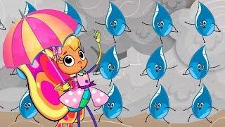 RAIN, RAIN, Go Away | Kids song | Clap clap kids | Songs for children