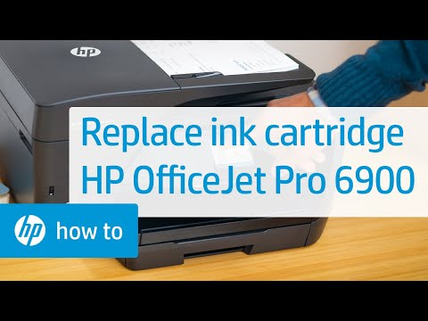 how to change ink cartridge in hp printer