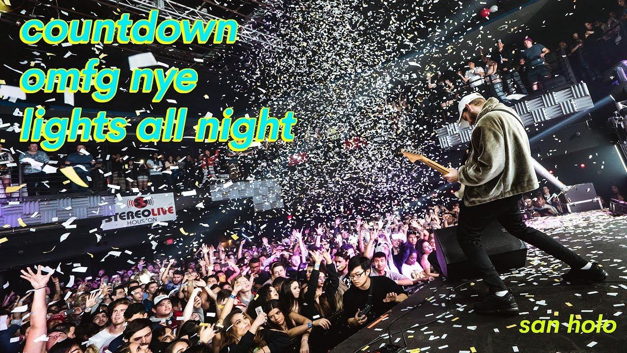 2017 COUNTDOWN FESTIVAL + OMFG NYE + LIGHTS ALL NIGHT!