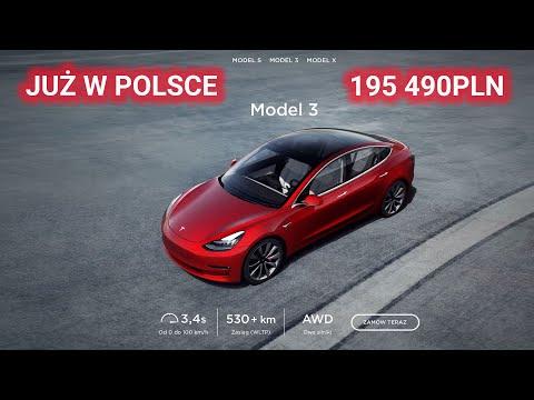 Oficjalny salon Tesli w Warszawie - Tesla oficjalnie w Polsce 2020