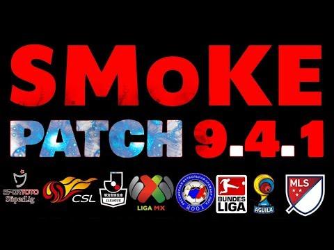SMoKE PATCH 9.4.1 DOWNLOAD ,PES 2017 PC