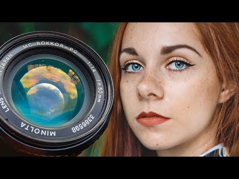THE BEST CHEAP CINEMATIC LENSES - 50mm F/1.4 MINOLTA Rokkor PG