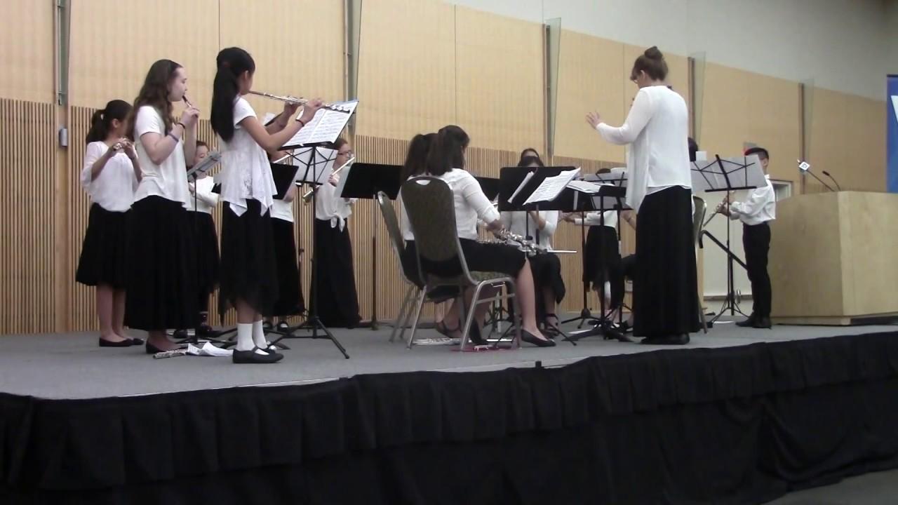 Samson et Dalila: Bacchanale for Beatbox flute choir by Saint-Saens arr   Christopher Kuhns