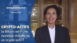 Le point de la Banque de France sur le bitcoin et autres crypto-actifs