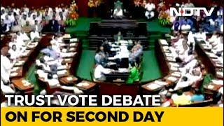 Karnataka Coalition Ignores Governor& 39 s Trust Vote Deadline