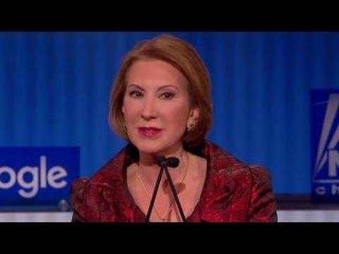 Carly Fiorina defends