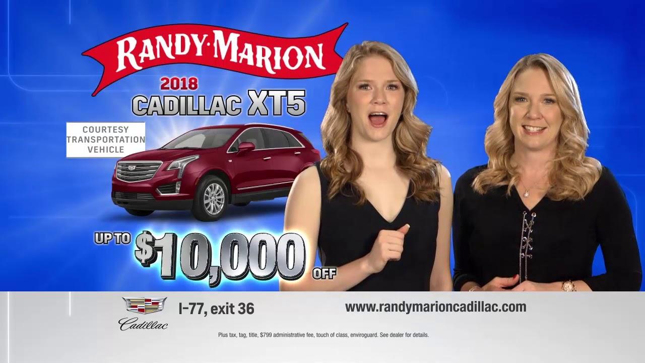 Randy Marion Cadillac Courtesy Transportation Sale Cadillac Xt5