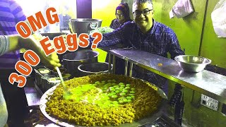 ৩০০ ডিমের ওমলেট? - INDIA'S BIGGEST Scrambled Egg - 300 EGGS Scrambled with Loads of Butter