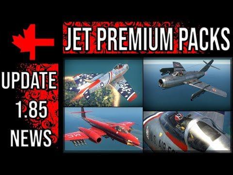 War Thunder - Rank V Jet Premium Packs