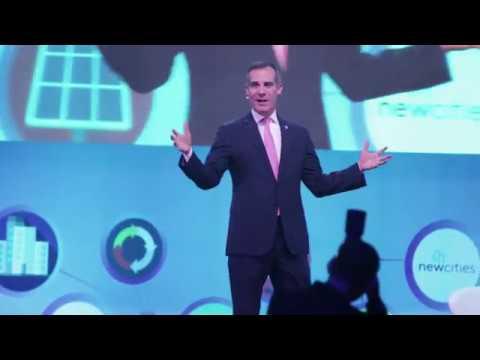 Mayor Eric Garcetti Welcomes Global Mobility Leaders to LA CoMotion