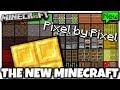 Minecraft - NEW MINECRAFT TEXTURES [ Pixel - Pixel ] MCPE / Xbox / Bedrock / Java / Console