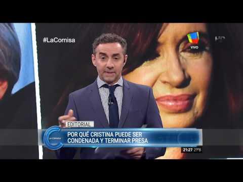 Los argumentos del por qué Cristina deber ser condenada y puede ir presa