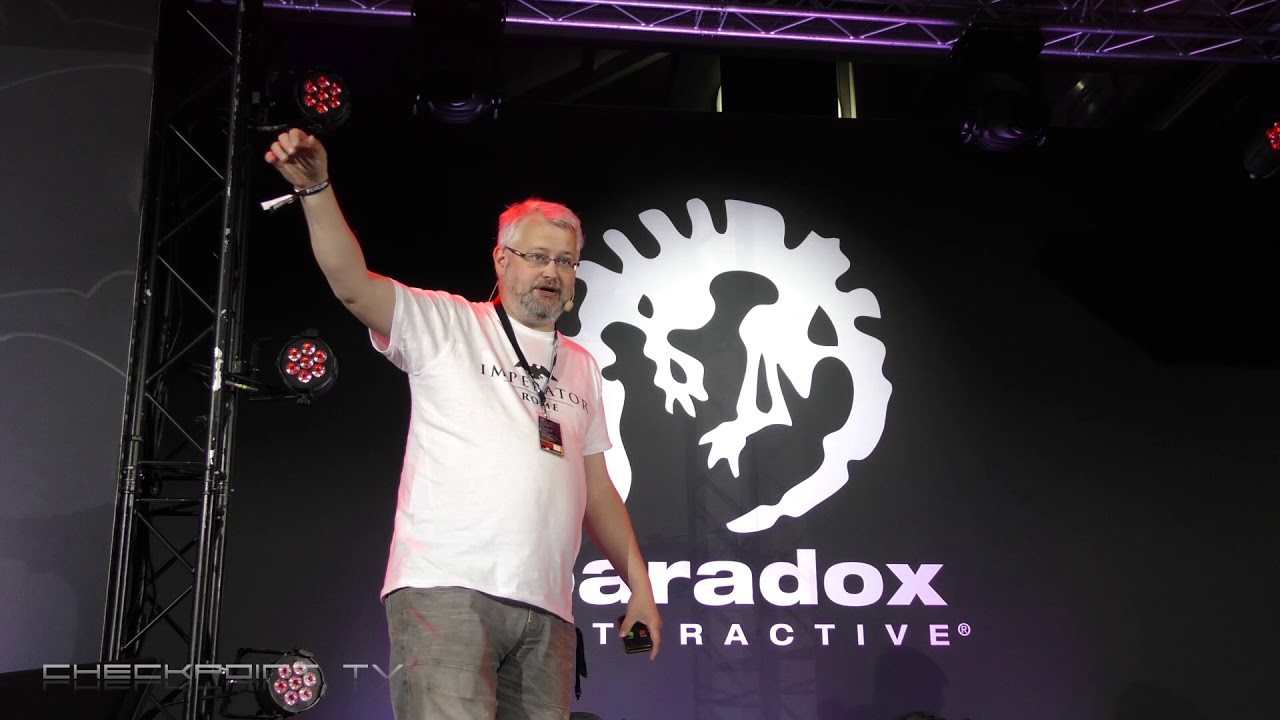 93d6eec0e2f Imperator  Rome presented to you by Emperor Johan Andersson himself -  PDXCON 2018