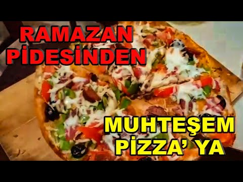 Ev Yapimi Pizza Sahurda Pizza Ramazan Pizzasi Video