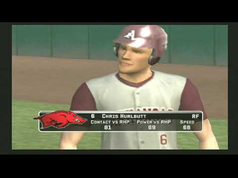 (Arkansas Razorbacks Vs Louisville Cardinals) (MVP 07 NCAA Baseball)
