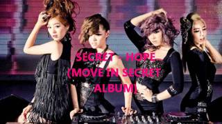 Secret - Hope + DL + Lyrics (MOVING IN SECRET ALBUM) Mp3