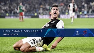 UEFA Champions League | Juventus v Lokomotiv Moscow | Highlights