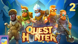 Quest Hunter: iOS / Android Gameplay Walkthrough Part 2 (by 2 Zombie Games)
