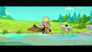 Симпсоны в кино   Бабка с котами