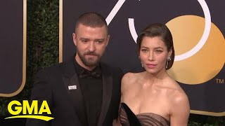 Justin Timberlake apologizes for holding hands with co-star l GMA