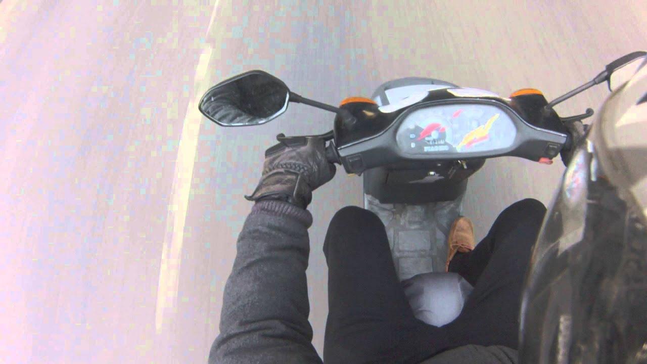 Piaggio Typhoon TPH 125, GoPro Hero 4,0-100 KMH, Topspeed - YouTube
