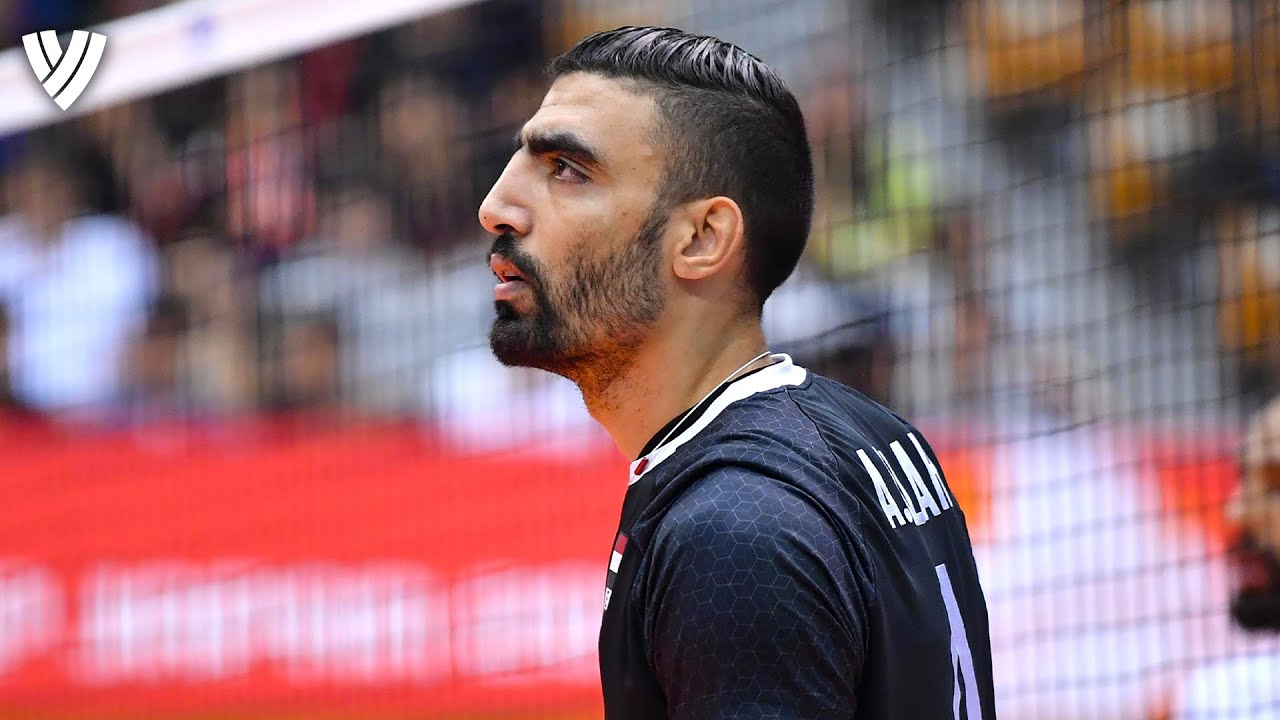 Welcome to the Game of Ahmed 'Salah' Abdelhay! 💯 🇪🇬  | Spike Height: 342cm | Volleyball World